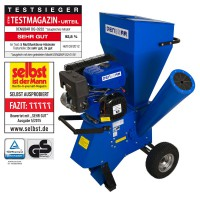 11 kW (15 HP) Garden Shredder Woodchipper