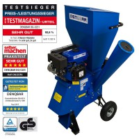 5.1 kW (7 HP) Garden Shredder Woodchipper