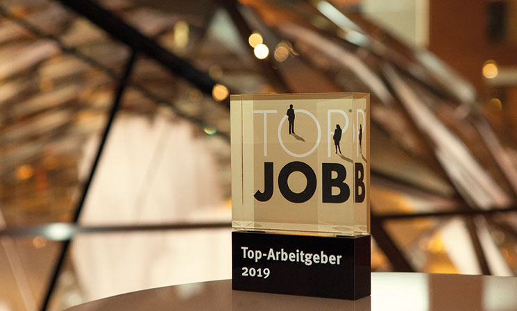 TOP JOB Award 2018