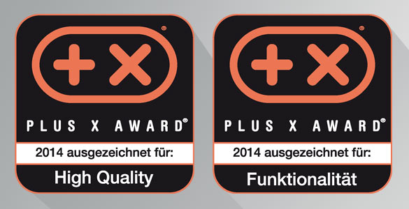 PLUS X Awards für DQ3300ER