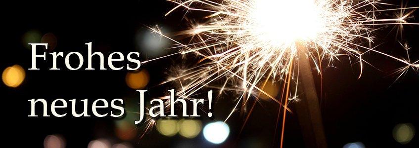 Frohes neues Jahr wünscht DENQBAR