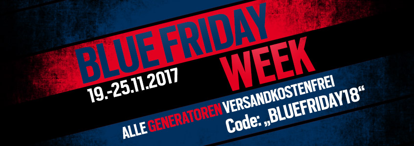 BLUE FRIDAY WEEK bei DENQBAR
