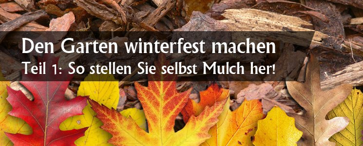 den garten winterfest machen teil 1 so stellen sie selbst mulch her. Black Bedroom Furniture Sets. Home Design Ideas