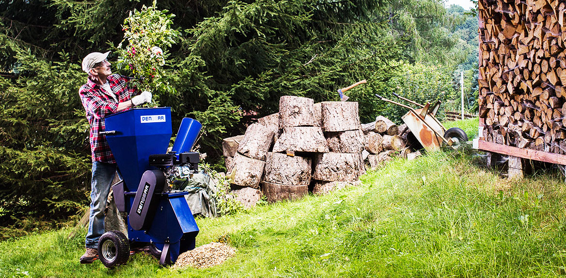 Garden Shredder Woodchipper - Did you already shred today?
