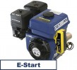 universal gasoline engine 196 ccm 4.8 kW (6.5 HP) 20 mm with E-START 001