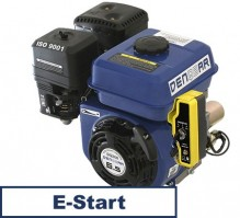 universal gasoline engine 196 ccm 4.8 kW (6.5 HP) 19,05 mm with E-START