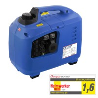 650 W silent suitcase digital generator 230 V inverter