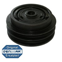 double v-belt clutch with 25 mm crankshaft diameter