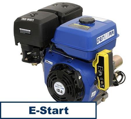 Universal Benzinmotor mit 9,6 kW (13 PS) 390 ccm 25 mm S-Typ mit E-Start