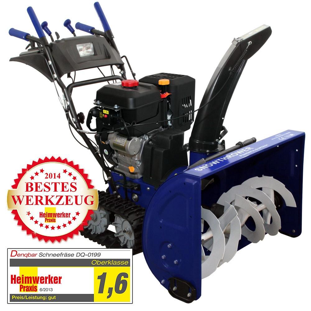 Profi Schneefräse mit 11 kW (15 PS) Benzinmotor