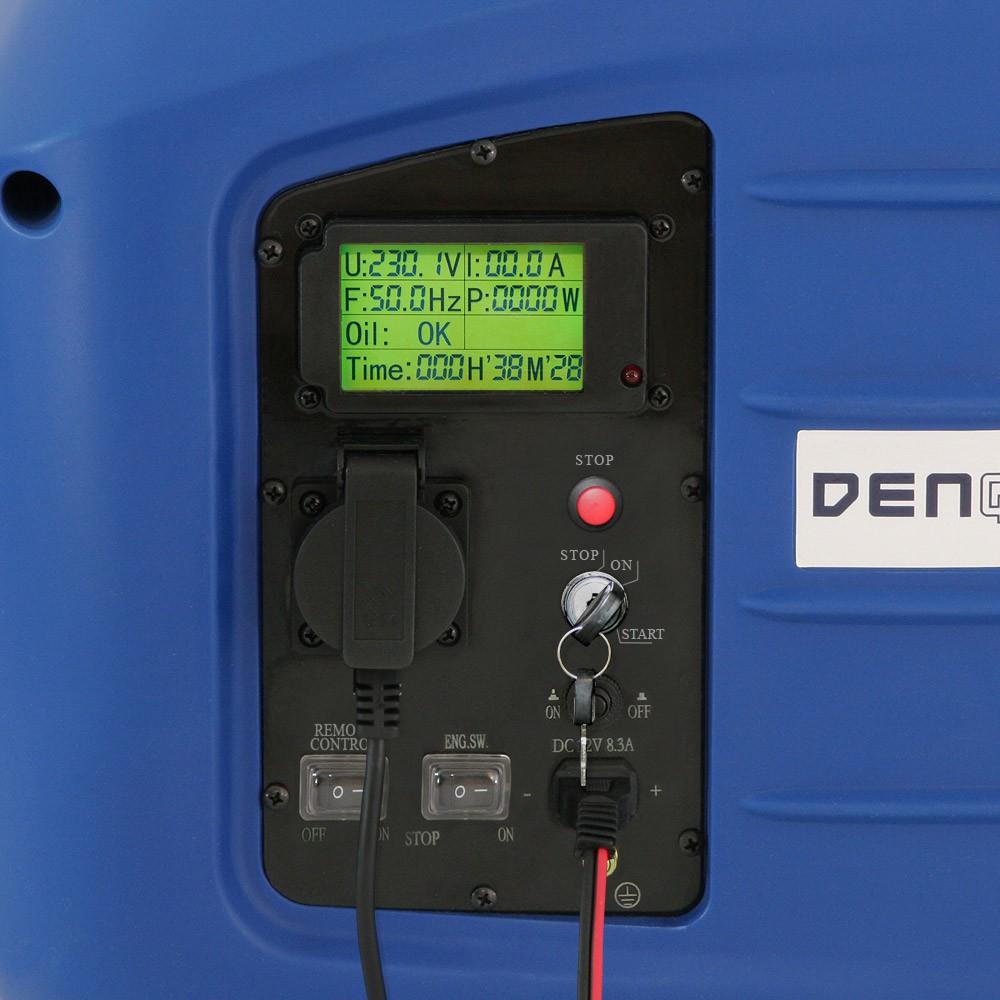 remote e start 2 8 kw generador de energ a el ctrica. Black Bedroom Furniture Sets. Home Design Ideas