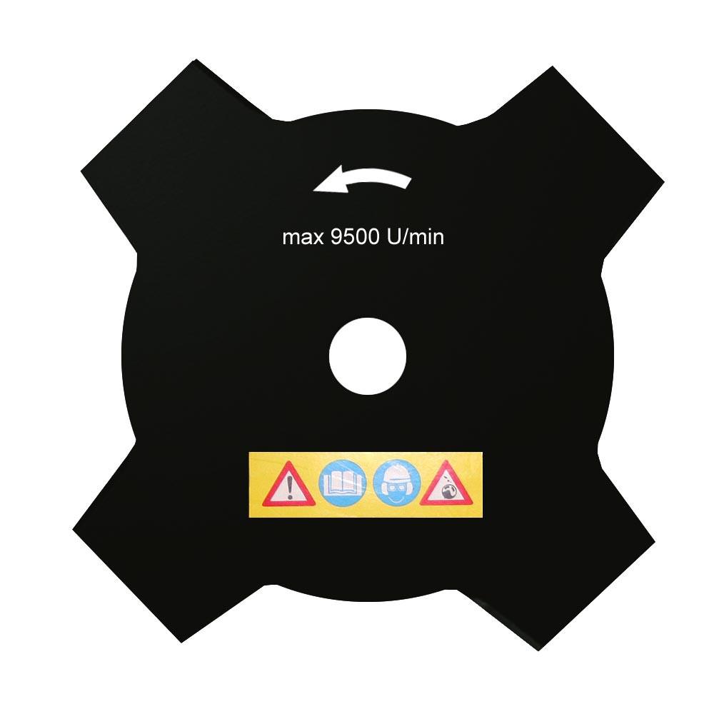 4-Zahn Grasschneideblatt für Motorsense